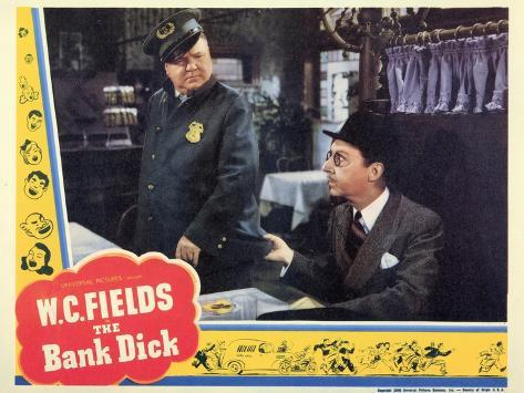 The Bank Dick, 1940 Stampa artistica