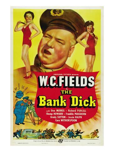 The Bank Dick, W.C. Fields, 1940 Foto