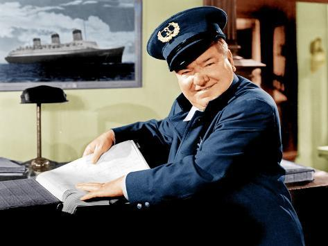 THE BANK DICK, W.C. Fields, 1940 Stretched Canvas Print
