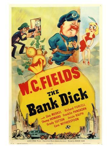 The Bank Dick Art Print
