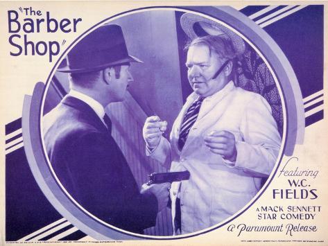 The Barber Shop, 1933 Art Print