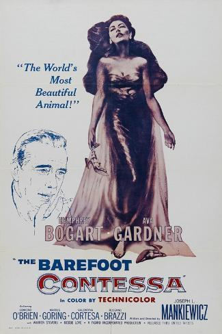 The Barefoot Contessa, 1954, Directed by Joseph L. Mankiewicz Giclee Print