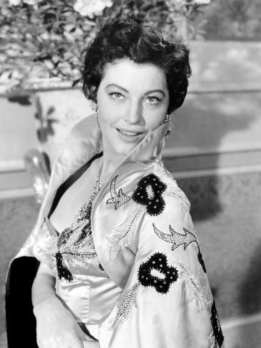 The Barefoot Contessa, Ava Gardner, 1954 Photo