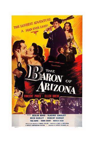 The Baron of Arizona Giclee Print