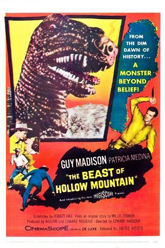 The Beast of Hollow Mountain Art Print
