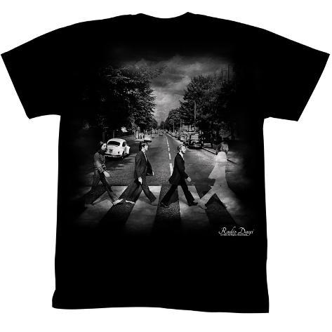The Beatles - Radio Days - Da Road T-Shirt