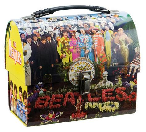 The Beatles Sgt Pepper's Dome Tin Lunch Box Lunch Box