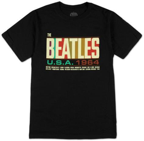 The Beatles- USA 1964 Camiseta