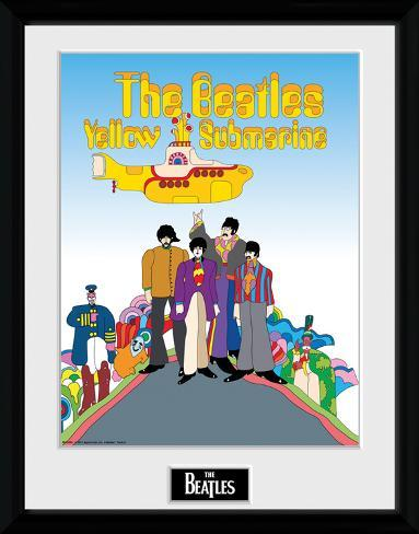 The Beatles- Yellow Submarine Movie Cast Collector Print