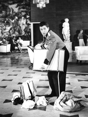 The Bellboy, Jerry Lewis, 1960 Photo