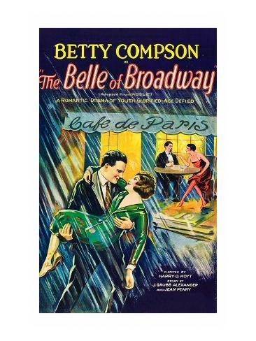 The Belle of Broadway Konstprint