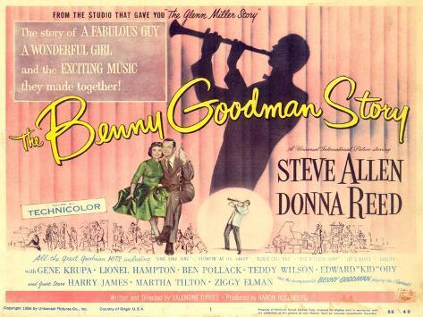 The Benny Goodman Story, 1956 Impressão artística