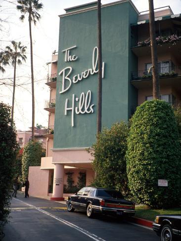 The Beverly Hills Hotel Valokuvavedos