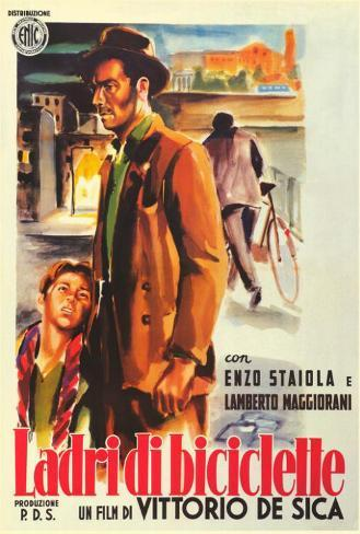 The Bicycle Thief - Italian Style Poster