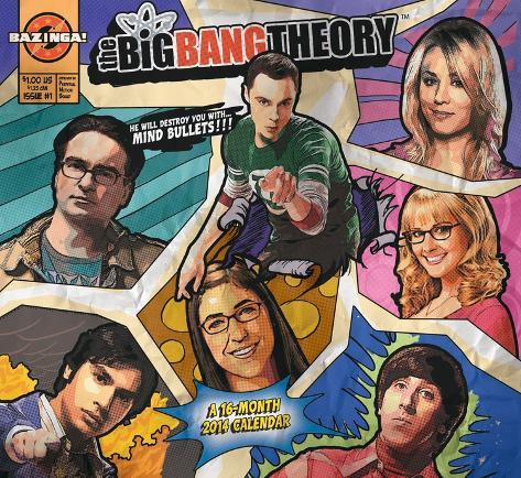 The Big Bang Theory - 2014 Calendar Calendars