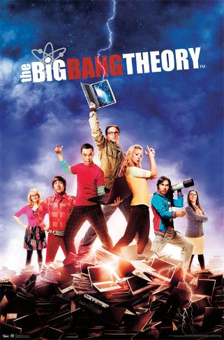The Big Bang Theory Augmented Reality Poster