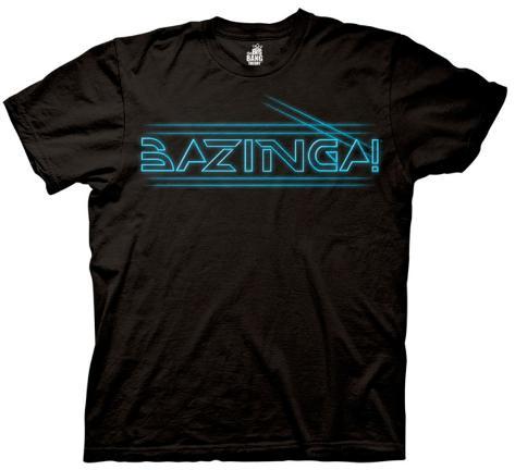 The Big Bang Theory - Bazinga Tron Type T-Shirt