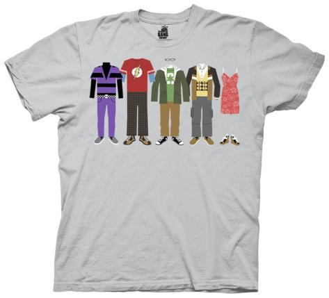 The Big Bang Theory - Group Clothing T-Shirt