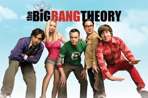The Big Bang Theory – Sky Poster