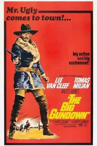 The Big Gundown, Lee Van Cleef, 1966 Stampa artistica