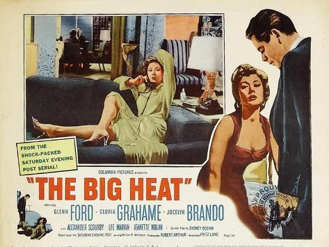 The Big Heat, 1953 Stampa artistica