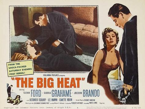 The Big Heat, 1953 Art Print