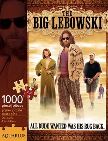 The Big Lebowski 1000 piece puzzle Jigsaw Puzzle