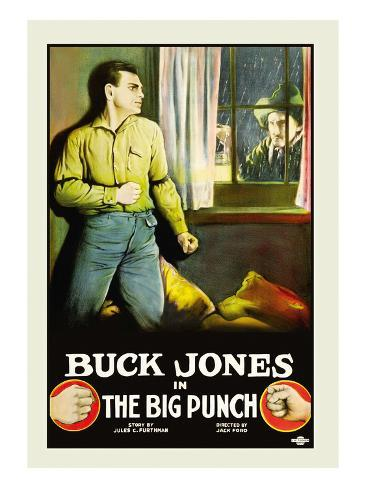 The Big Punch Stretched Canvas Print