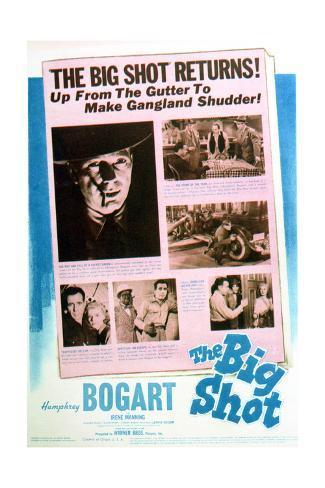The Big Shot - Movie Poster Reproduction Art Print