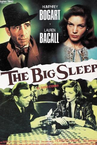 The Big Sleep, 1946, Directed by Howard Hawks Lámina giclée