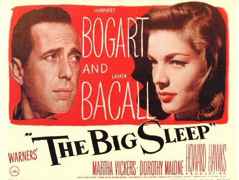 The Big Sleep, 1946 Lámina