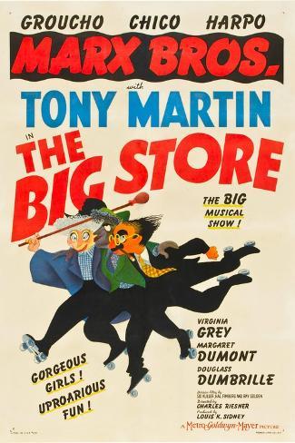 The Big Store, Harpo Marx, Chico Marx, Groucho Marx, 1941 Art Print