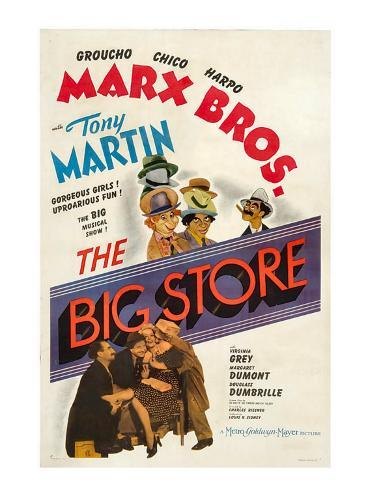 The Big Store, the Marx Brothers, 1941 Photo