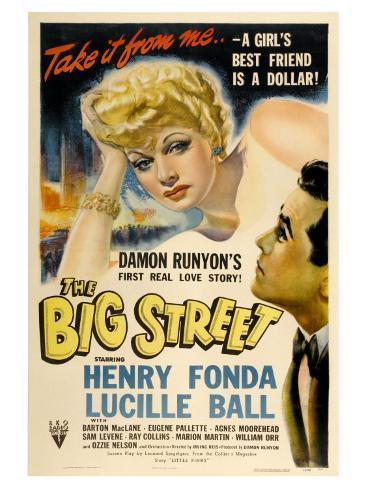 The Big Street, 1942 Art Print