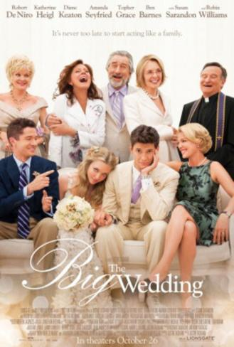 The Big Wedding Movie Poster Poster originale