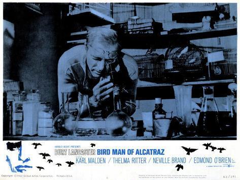 The Bird Man of Alcatraz, 1962 Art Print