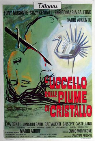 The Bird with the Crystal Plumage - Italian Style Poster