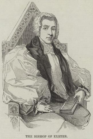 The Bishop of Exeter Lámina giclée