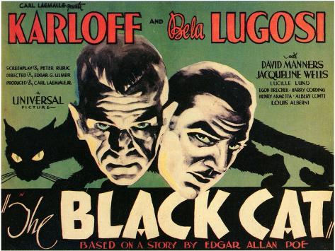 The Black Cat, 1934 Art Print