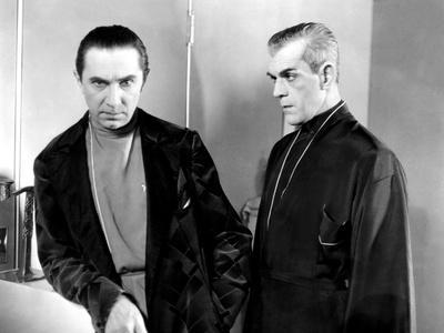 Propaganda-Pravda: Karloff and Lugosi Together in Classic ...  |Boris Karloff Bela Lugosi