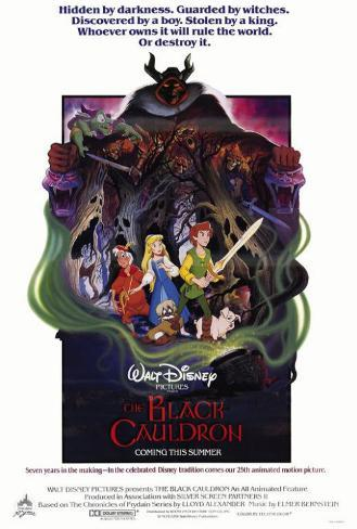 The Black Cauldron Pôster