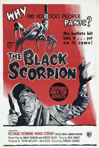 The Black Scorpion, 1957, Directed by Edward Ludwig Giclee Print