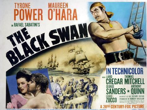 The Black Swan, 1942 Art Print