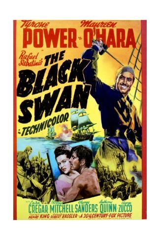 The Black Swan - Movie Poster Reproduction Stampa artistica
