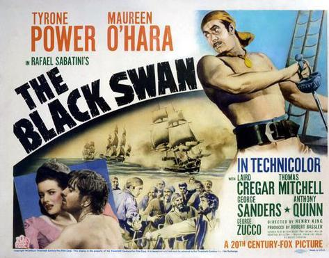 The Black Swan -  Style Poster