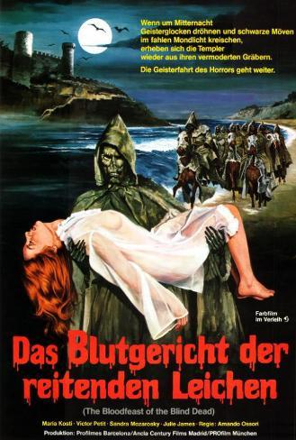 The Blind Dead 4 - German Style Poster