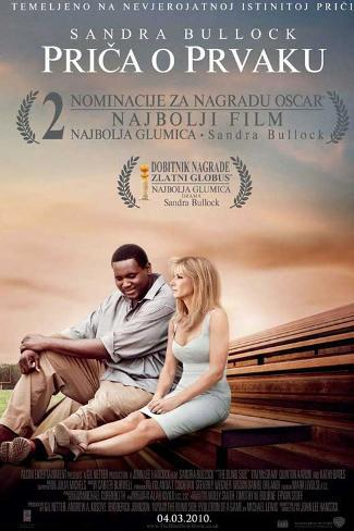 The Blind Side - Croatian Style Poster