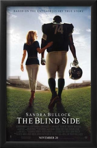 The Blind Side Impressão artística emoldurada