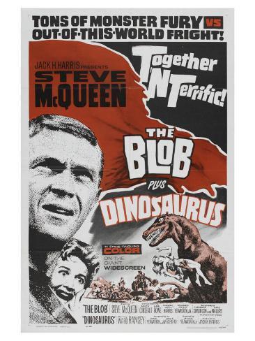 The Blob, 1958 Art Print