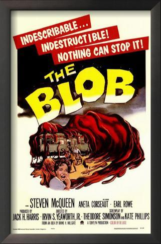 The Blob Impressão artística emoldurada